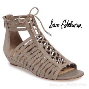 🆕 Sam Edelman Daleece Lace-up Sandal (8.5 US)